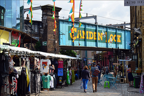 カムデン・マーケット Camden Market