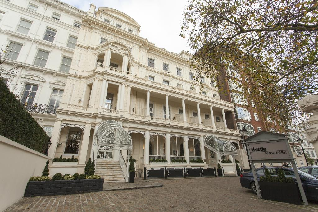 シスル・ハイド・パーク・ホテル Thistle Hyde Park Hotel