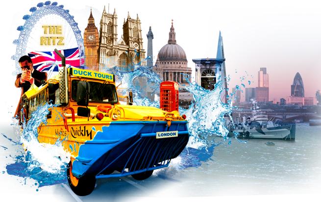 ロンドン・ダック・ツアーズ London Ducktours