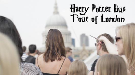 ハリー・ポッター・ロンドン・バスツアー Harry Potter Bus Tour of London