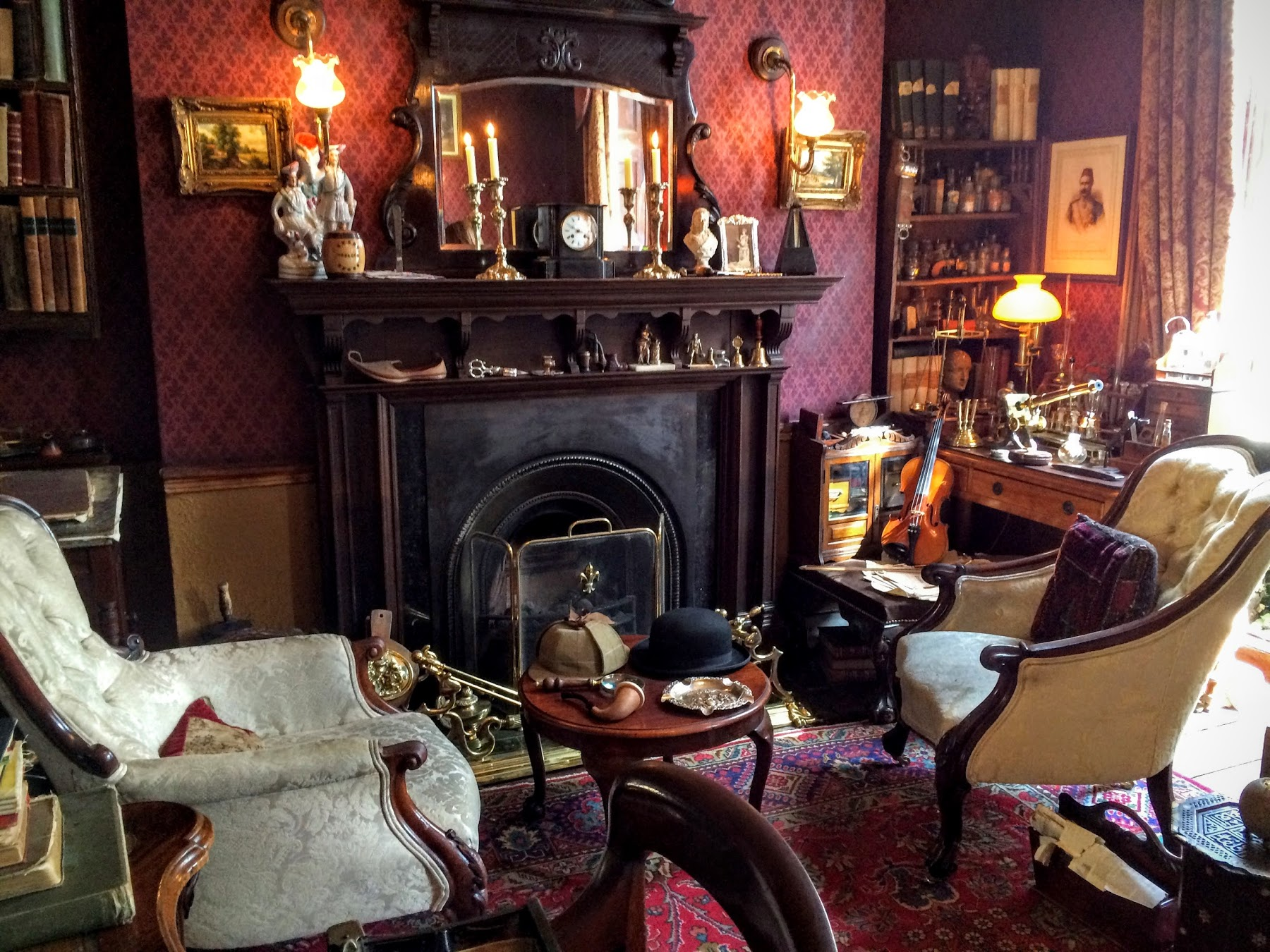シャーロック・ホームズ博物館 The Sherlock Holmes Museum