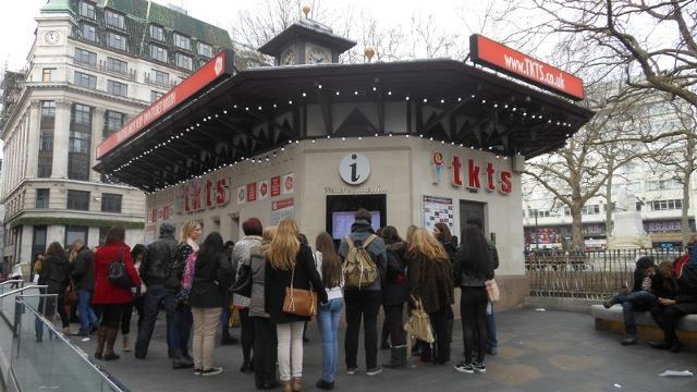 ロンドンのエンターテインメントのチケット入手方法