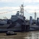 HMSベルファスト号 HMS Belfast