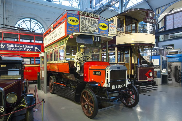 ロンドン交通博物館 London Transport Museum