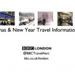 【交通機関】2016年 ロンドンのクリスマス&新年トラベル情報