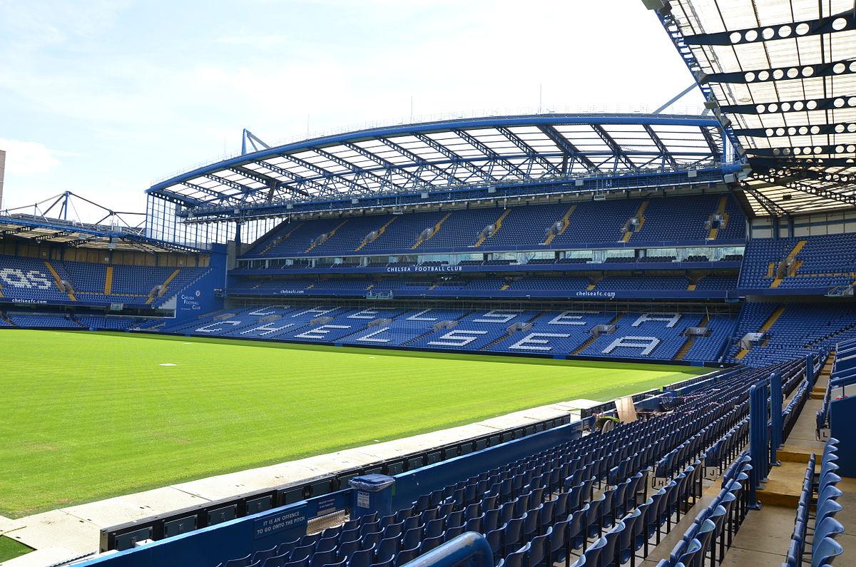 """スタンフォード・ブリッジ Stamford Bridge """"The Bridge"""""""