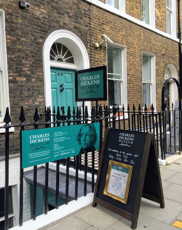 チャールズ・ディケンズ博物館 Charles Dickens Museum