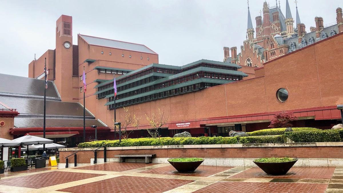 大英図書館 The British Library