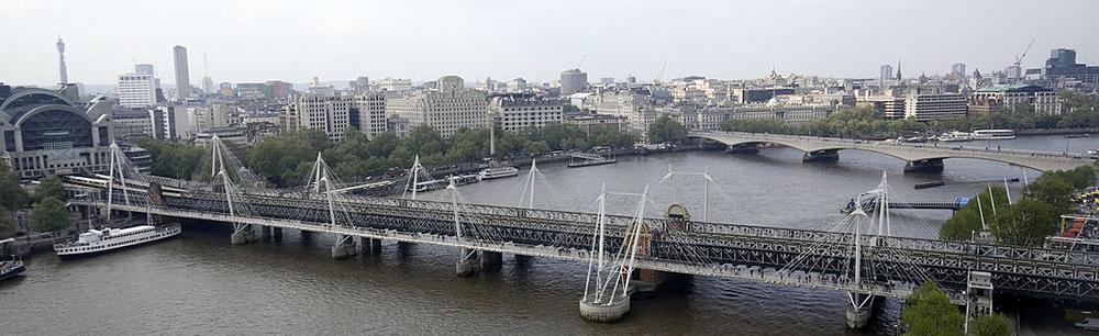 ゴールデン・ジュビリー・ブリッジ Golden Jubilee Bridges