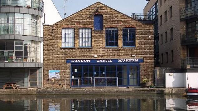 ロンドン運河博物館 London Canal Museum