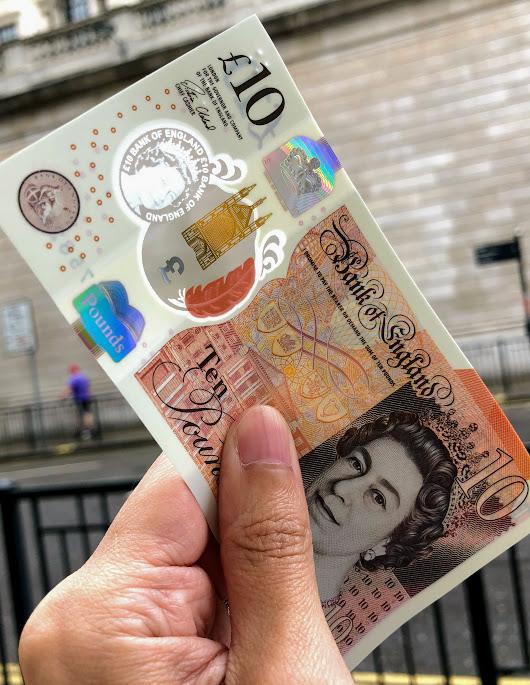 【新紙幣交換】ロンドン市内で旧紙幣と新紙幣を交換する方法