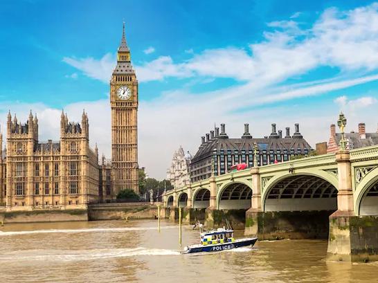 日本語ガイド/アシスタント:ロンドン4時間プライベート観光ツアー
