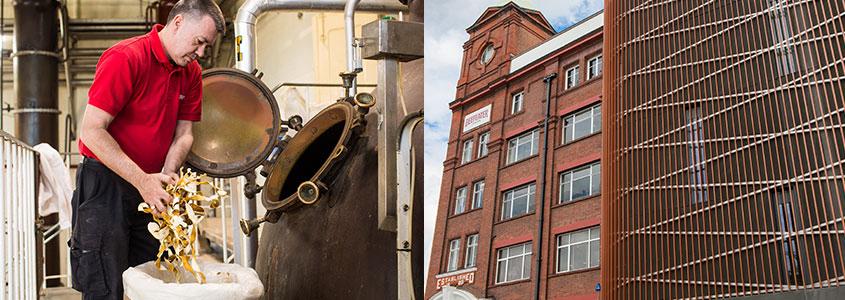 ビフィーター・ジン 蒸溜所 Beefeater Gin Distillery