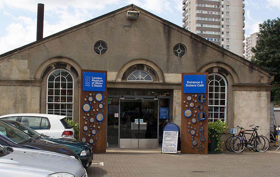ロンドン 水と蒸気の博物館 London Museum of Water & Steam