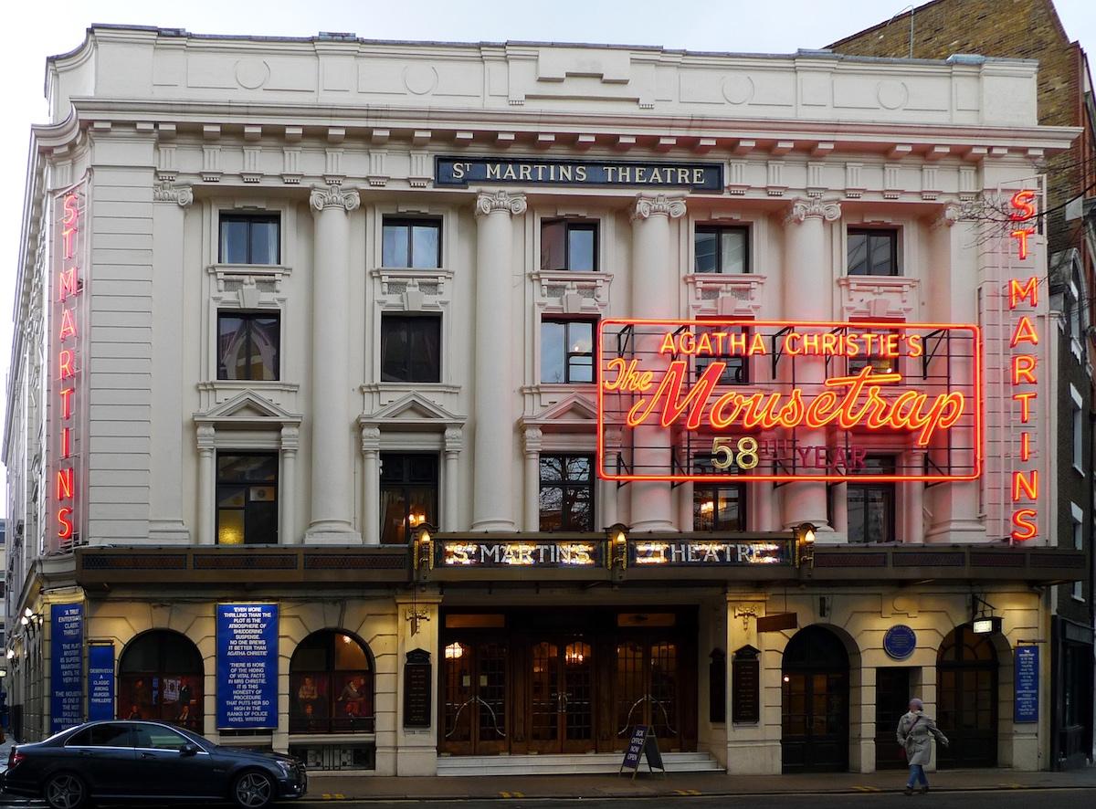 セント・マーティンズ・シアター St Martin's Theatre