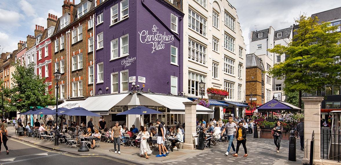 セント・クリストファーズ・プレイス St Christopher's Place