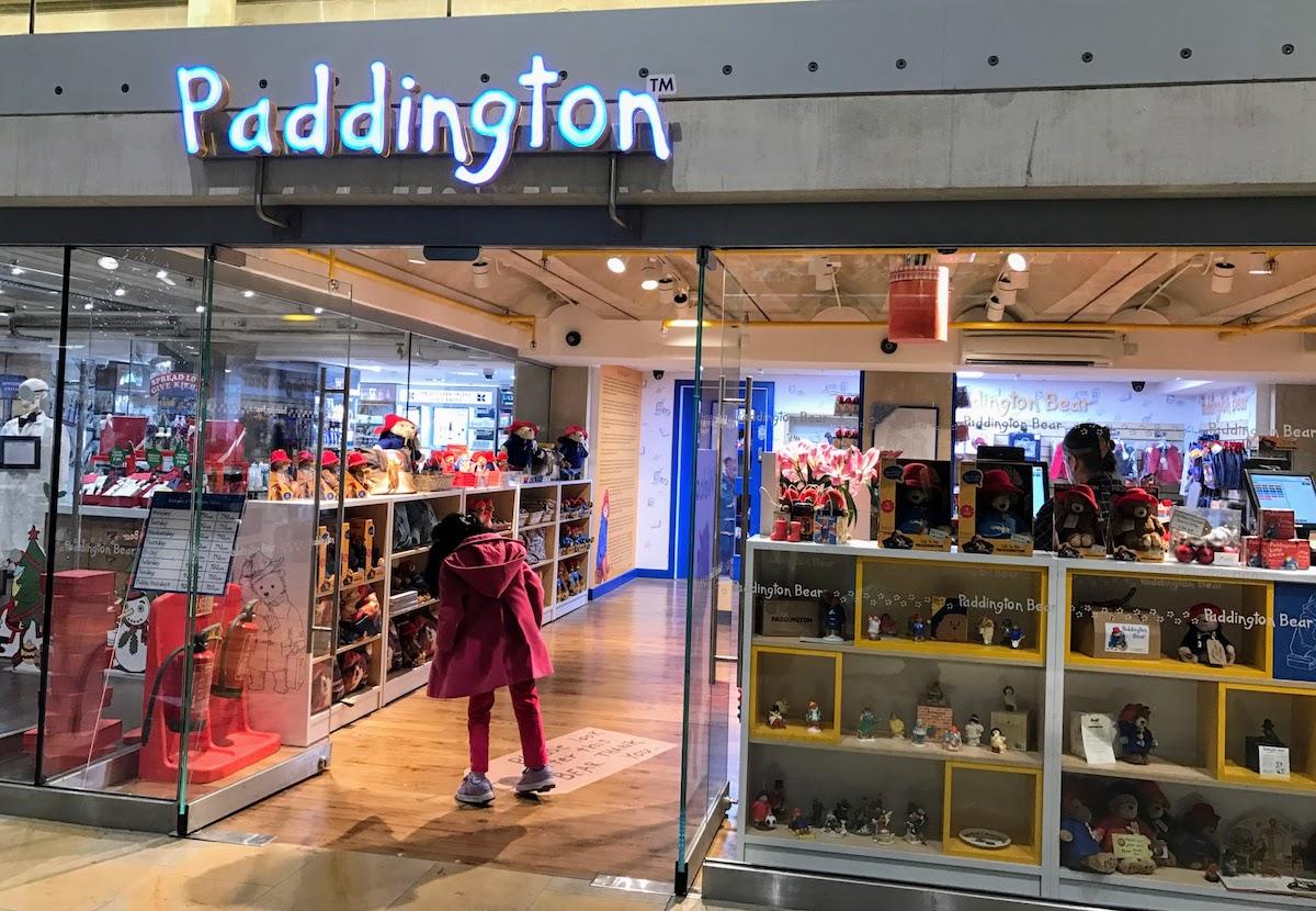 パディントン・ベア・ショップ Paddington Bear Shop