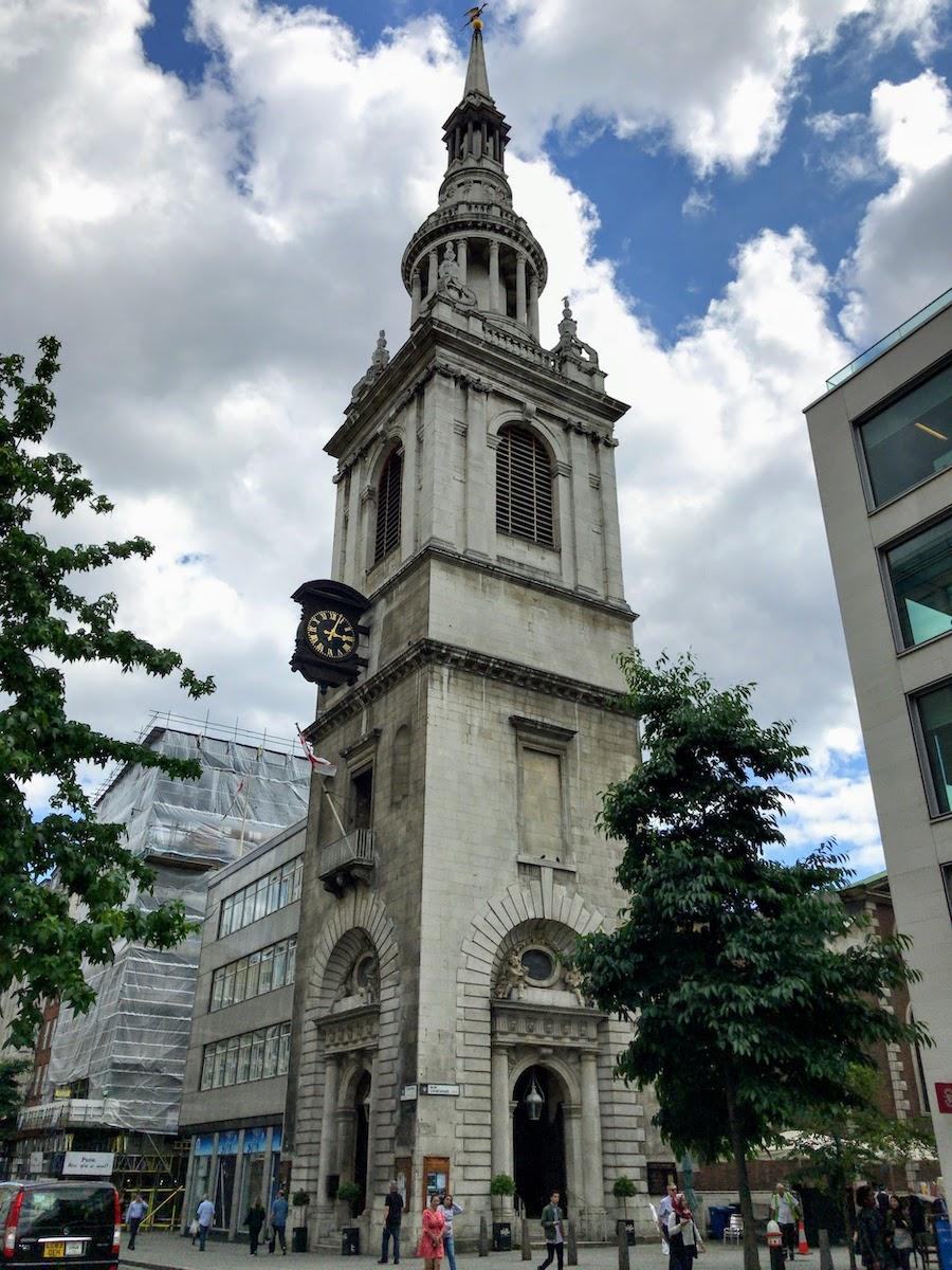 セント・メアリ・ル・ボウ St Mary-le-Bow