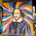 シェイクスピアの壁画 William Shakespeare Mural