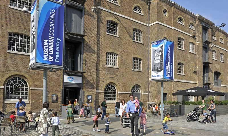 ロンドン・ドックランズ博物館 Museum of London Docklands