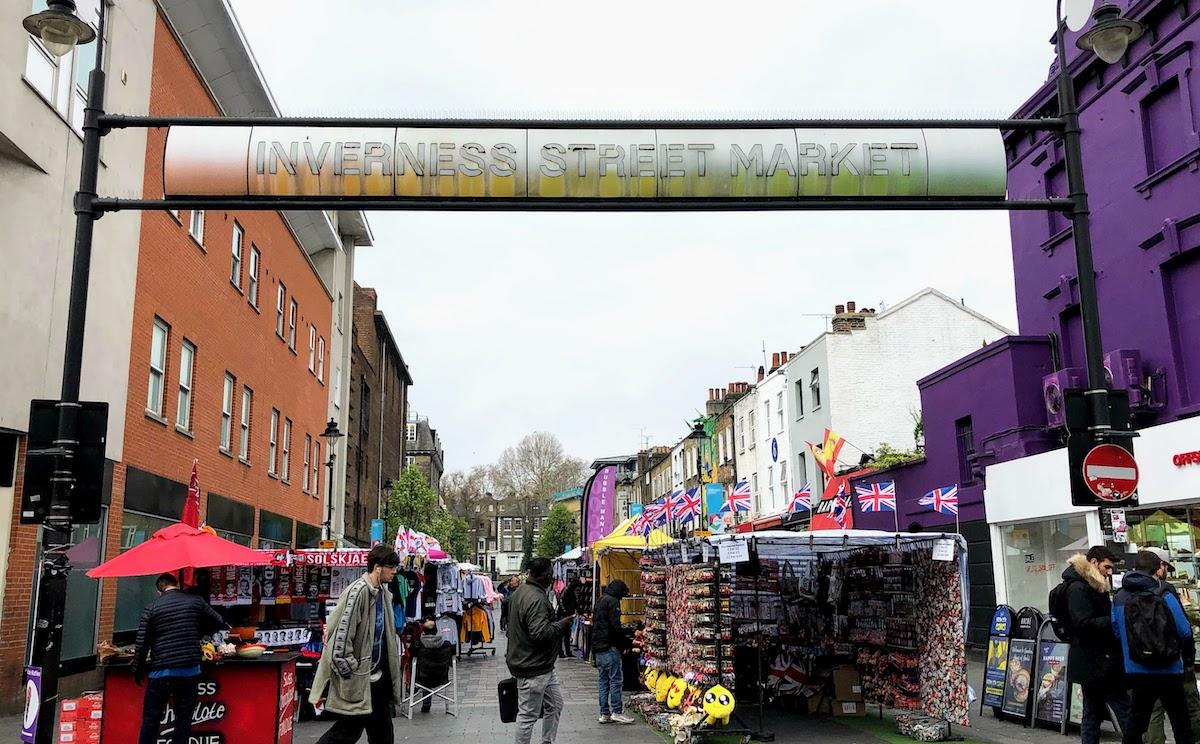 インヴァネス・ストリート・マーケット Inverness Street Market