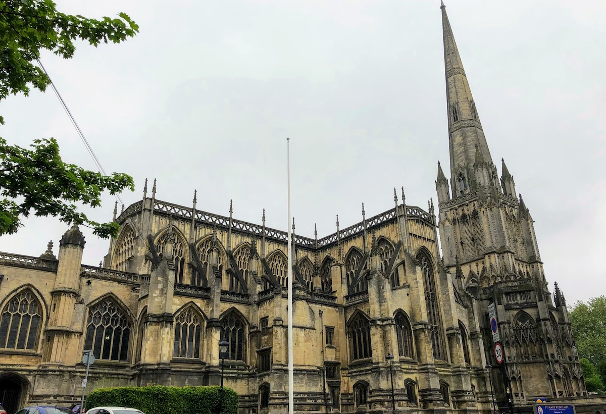 セント・メアリー・レッドクリフ教会 St Mary Redcliffe