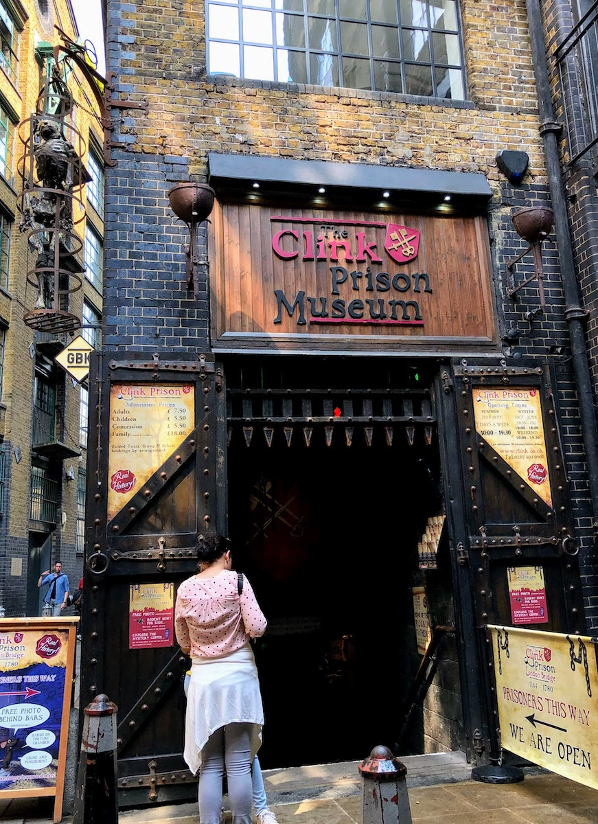 クリンク刑務所ミュージアム The Clink Prison Museum
