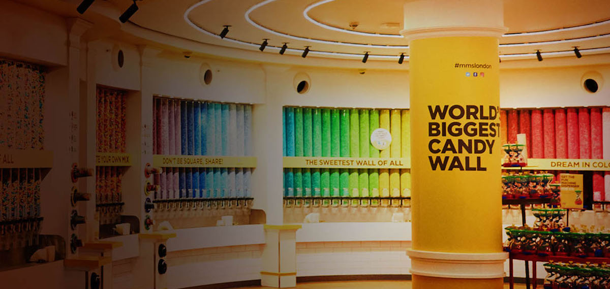 M&M'S® ワールド・ロンドン M&M'S® World London