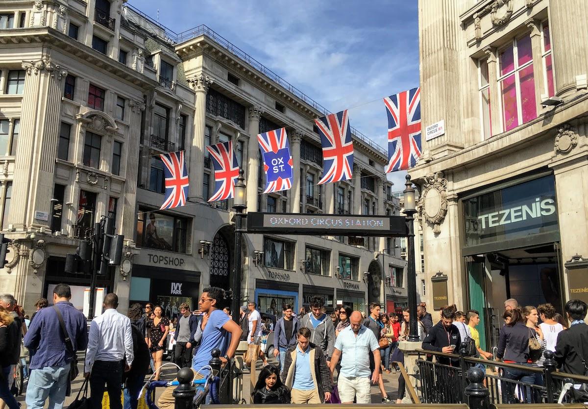オックスフォード・ストリート Oxford Street