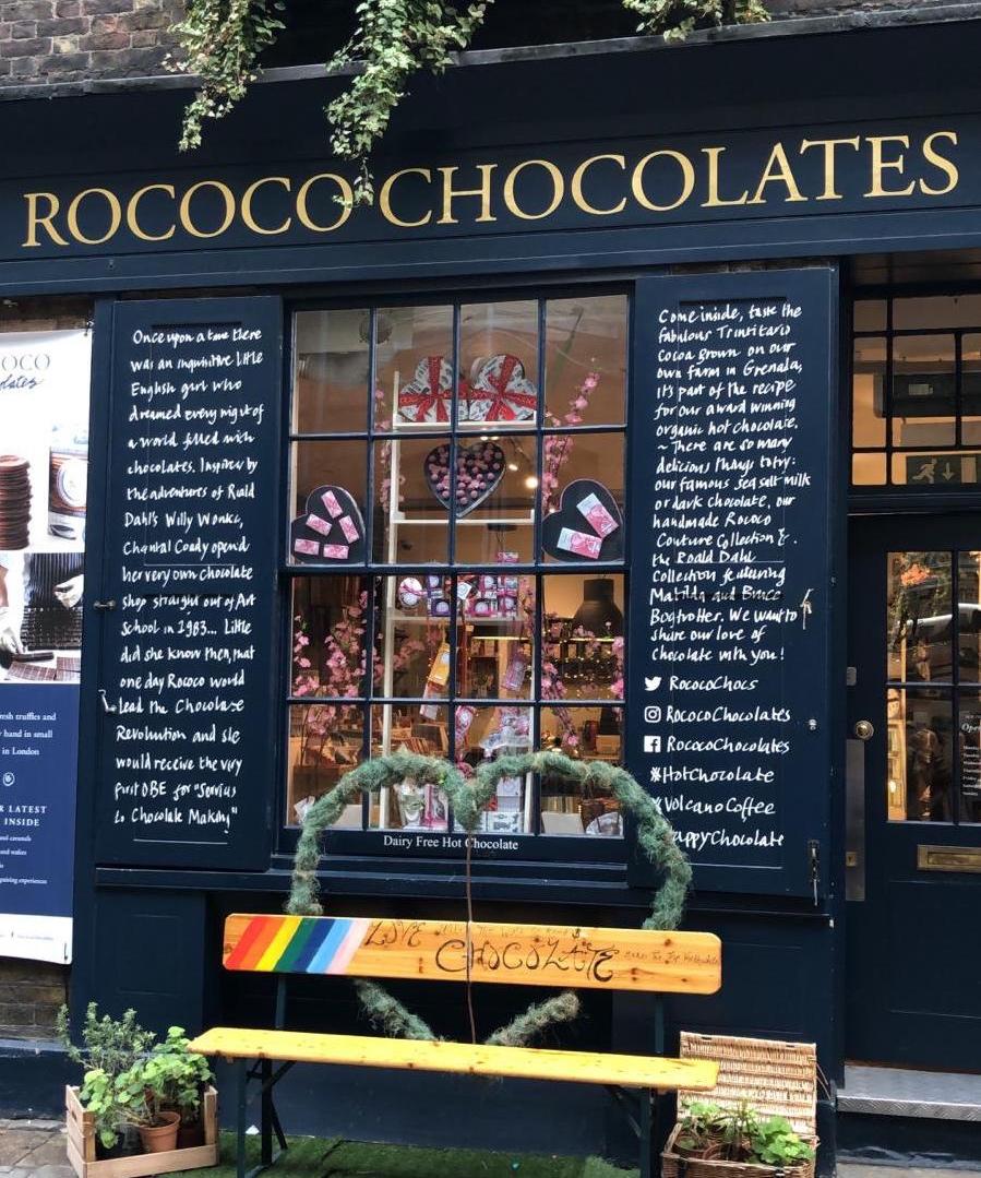ロココ・チョコレート Rococo Chocolates